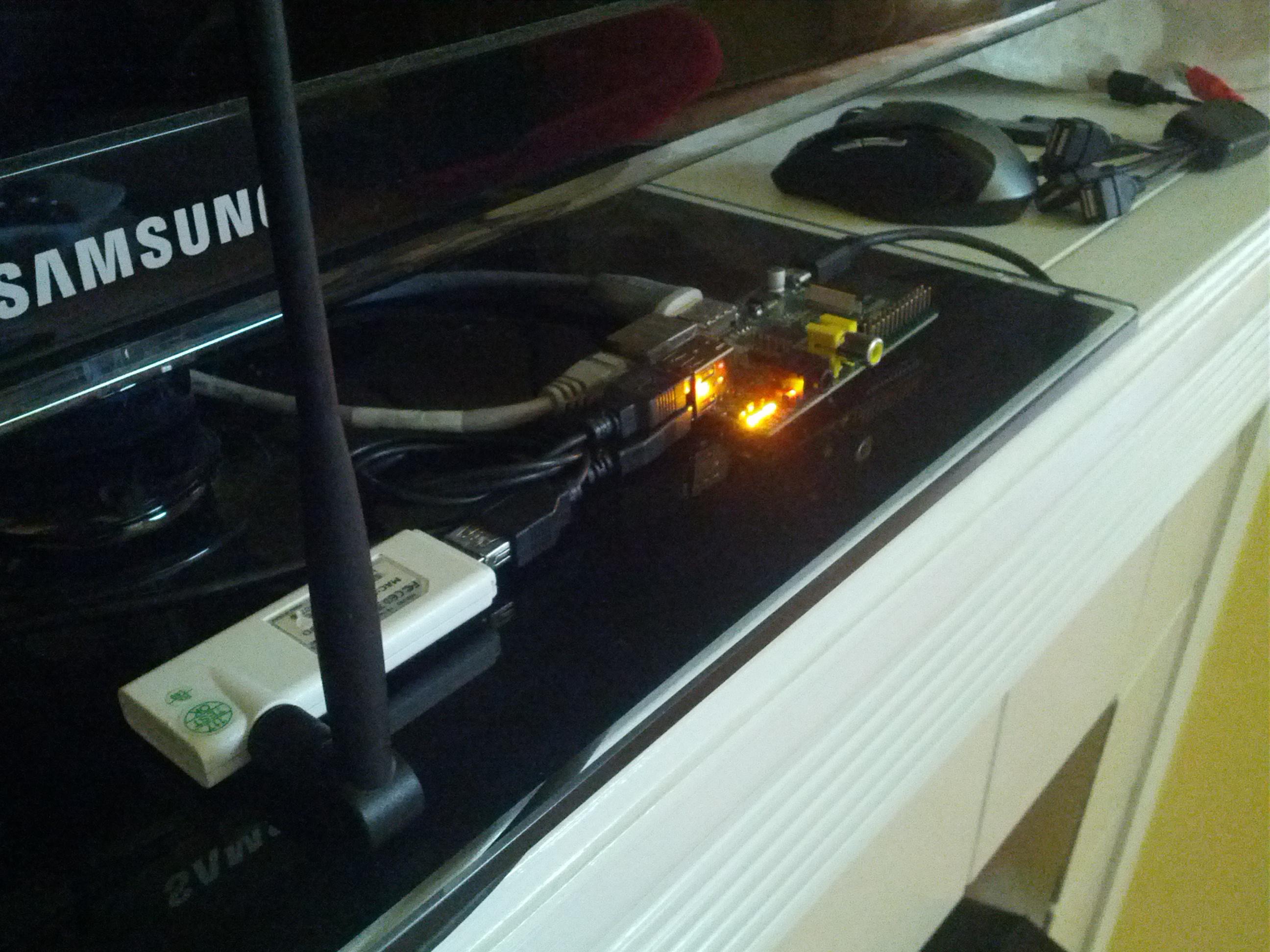Ralink/Realtek Wireless Dongle (rt3070) on the Raspberry Pi