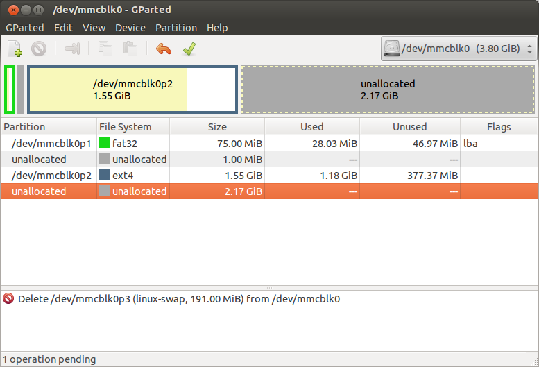 Easy GUI Install & Re-Partition Raspberry Pi on Ubuntu - MitchTech