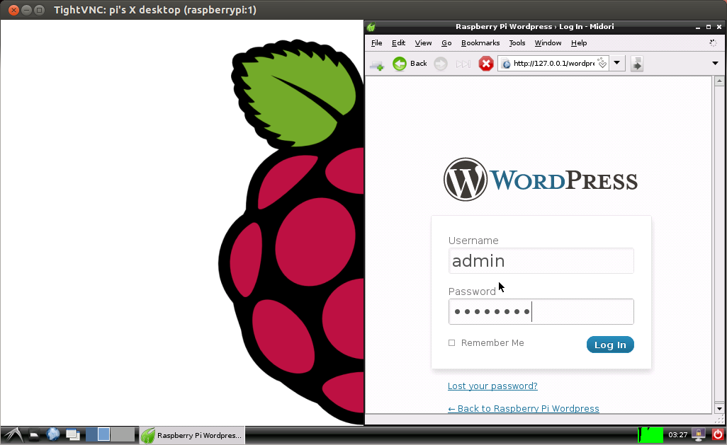 Wordpress on Raspberry Pi - MitchTech | MitchTech