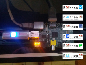 Easily connect Raspberry Pi to Gmail, Facebook, Twitter & more!
